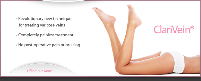ClariVein treatment